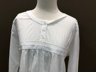 French Country Long Sleeved Nightie FFC350