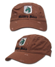 Baseball Cap Attack on Titan Military Police Brown ge32221