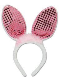 Headband Animal Ears Rabbit Sparkle ge6254