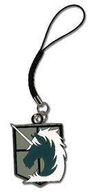 Cell Phone Charm Attack on Titan Military Police ge17203