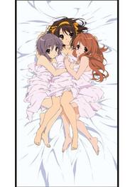 Pillow Haruhi Haruhi, Yuki and Mikuru Girls Cushion ge2885
