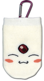 Cell Phone Bag Tsubasa White Mokona Knitted ge17128