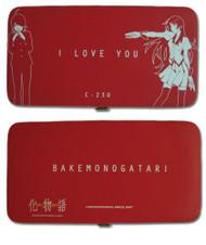 Wallet Bakemonogatari I Love You ge61090