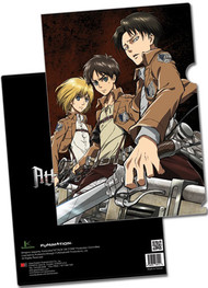 File Folder Attack on Titan Armin, Eren & Levi Ring ge26212