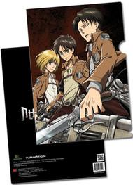 File Folder Attack on Titan Armin, Eren & Levi Ring ge26212