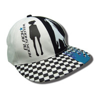 Baseball Cap Black Rock Shooter Two Sides Checkered ge31517