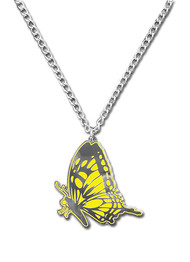 Necklace Blast of Tempest Monarch Butterfly ge35619