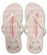 Foot Wear Puella Magi Madoka Magica Kyubey Flip Flop Slippers ge74524