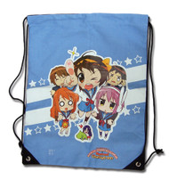 String Backpack Haruhi Chan Group Draw Sling Bag ge81039