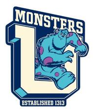Car Magnet Disney Monster University Sulley 21963