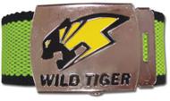 Belt Tiger & Bunny Wild Tiger Logo Fabric ge14000