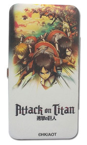 Hinge Wallet Attack on Titan Key Art ge61109