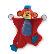 "Blanket Baby Gund Color Fun Circus Monkers Activity 16"" Soft 4034140"