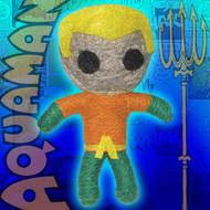 Cell Phone Charm DC Comic Aquaman String Doll k-dc-0028-v