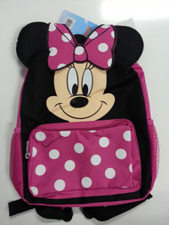 Small Backpack Disney Minnie Mouse Face Bag 052354