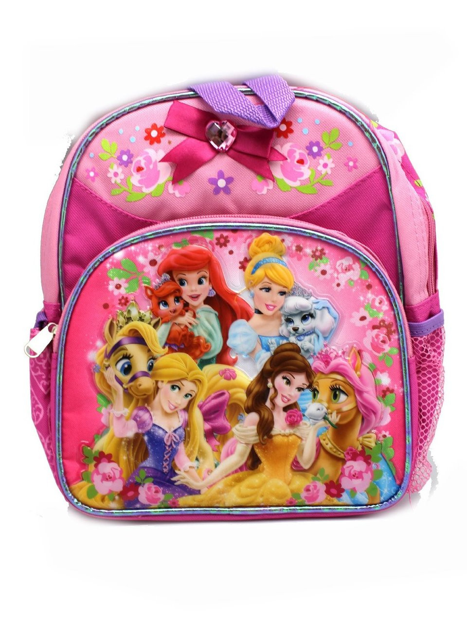 5e64ae69da1e Mini Backpack Disney Princess Palace Pets Pink School Bag 637910