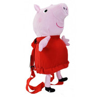 "Plush Backpack Peppa Pig 12"" Soft Doll 105383"