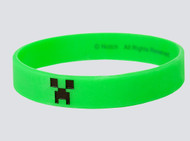 Bracelet Minecraft Creeper Green Rubber PVC S/M j2960-m