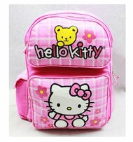 Medium Backpack Hello Kitty Teddy Bear School Bag Book 81608