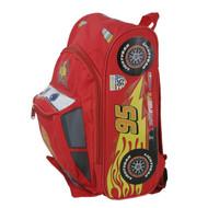"Small Backpack Disney Cars 2 Lightning Mcqueen 12"" Book Bag 603670"