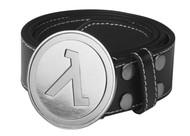 Belt Half Life 2 Lambda Logo Sign Leather L/XL j4083-l