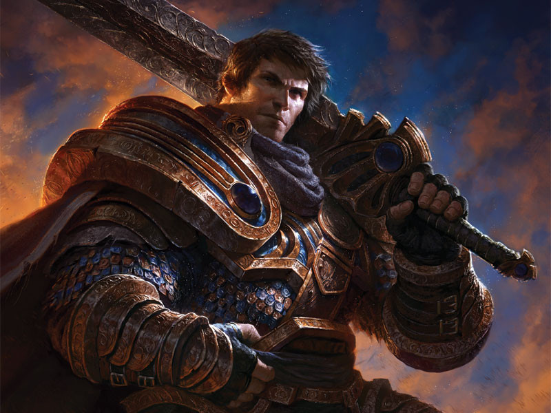 Poster League Of Legends Garen Wall Art J3252 Hobby Hunters