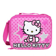 Lunch Bag Hello Kitty Pink Star and Dots Case 81401