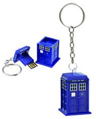 Electronic Doctor Who Tardis 8GB USB Memory Stick dw01339