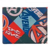 Wallet Marvel Avengers Sublimated Bi-Fold mw2eyumav