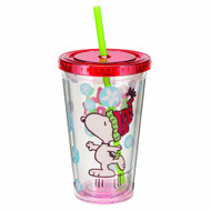 Acrylic Travel Cup Peanuts Holiday 18oz Mug 85114
