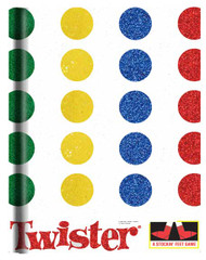 "Journals Game Twister  (6""x8"" Hard Cover200pgs)"
