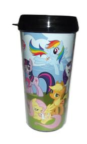 Travel Mug My Little Pony My Little Pony Friendship is Magic (Plastic w/Lids16oz) mlp2187