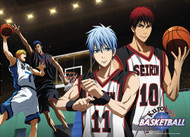 Premium Wall Scroll Kuroko's Basketball New Court ge81134