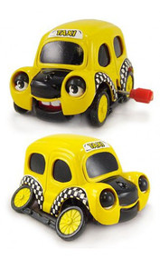 Toys (Mini) Z Wind Ups Chester the Yellow Taxi Cab 40252