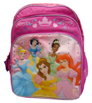 "Backapck - Disney - Princess Large 16"" Group Girls School Bag New 504441"