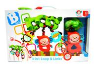Baby Toys B Kids 3 in 1 Loop & Links Games 3794