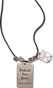 Necklace Attack on Titan 104th Training Regiment 'Dedicate Your Heart' ge36488