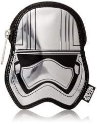 Coin Bag Star Wars Captain Phasma Slv Metallic Embossed tfacb0002
