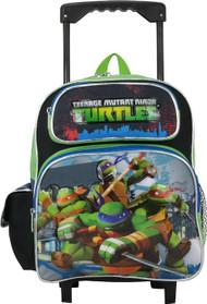 Small Rolling Backpack Teenage Mutant Ninja Turtles 12' 658755