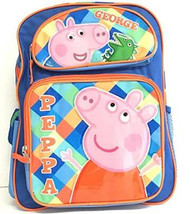 "Backpack Peppa Pig George 16"" 122892"