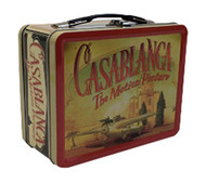 Lunch Box Casablanca Classic Movie Tin Metal 408830