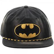 Baseball Cap Batman Washed Unstructured 6 Panel Snapback sb3c3mbtm