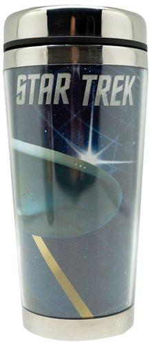 Travel Oz21841 Enterprise Mug16 Trek Stainless Mug Steelamp; Acrylic Star MVUzpS