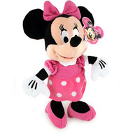 "Plush Disney Minnie Mouse Pink Outfit 9"" Soft Doll Toys 108020"
