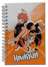 Notebook Haikyu!! Shoyo & Kageyama Hard Cover ge43563