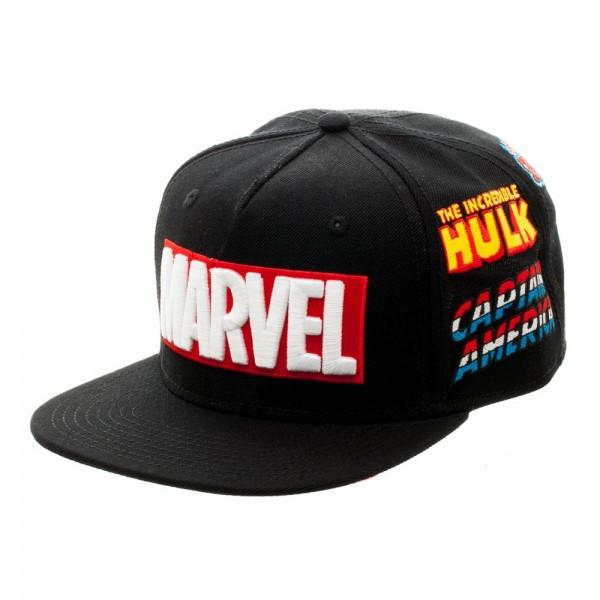 bcd66988cecce Baseball Cap Marvel Full Color Omni Snapback Hat sb4ap3mvl - Hobby ...