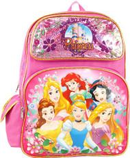 "Backpack Disney Princess Group Pink 16"" 103156"