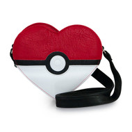 Hand Bag Pokemon Pokeball Heart Shaped Xbody pmtb0008