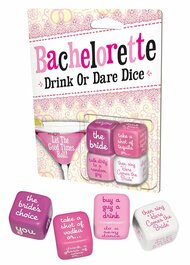 Game Bachelorette Drink Or Dare Dice Game 2088