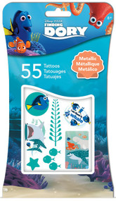 Metallic Tattoo Disney Finding Dory Metallic + 4c Tattoos 55ct tt1026